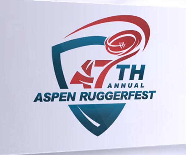 aspen-ruggerfest-logo-design