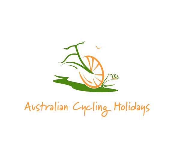 australian-cycling-holidays-logo-design