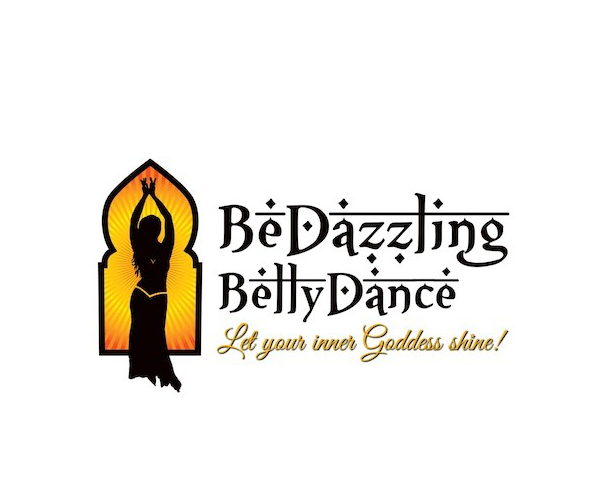 bedazzling-belly-dance-logo-design