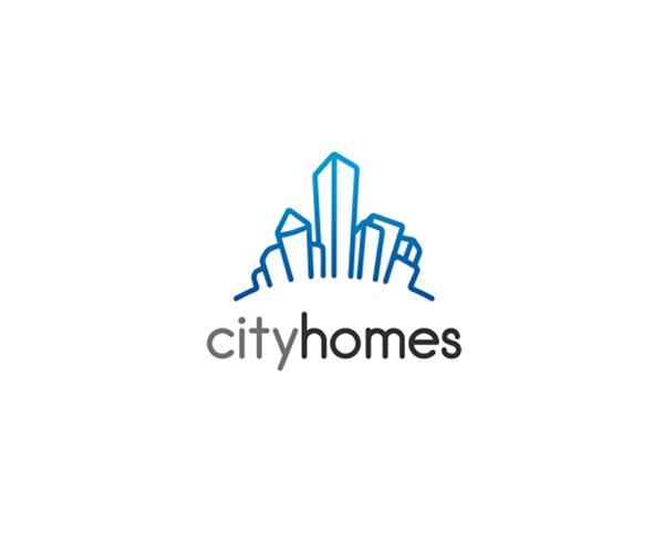city-homes-logo-design