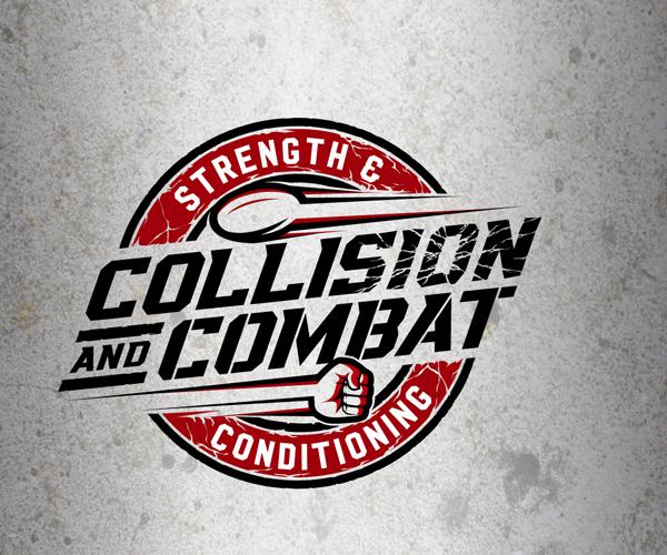 collision-combat-sports-logo-design