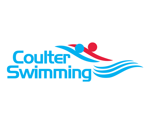 coulter-swimming-logo-designer-uk