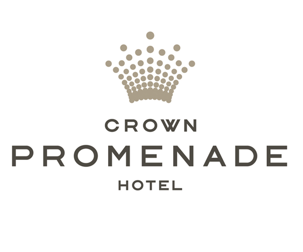 crown-promenade-hotel-logo-design