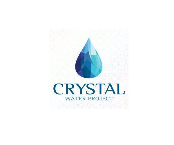 crystal-water-project-logo-design