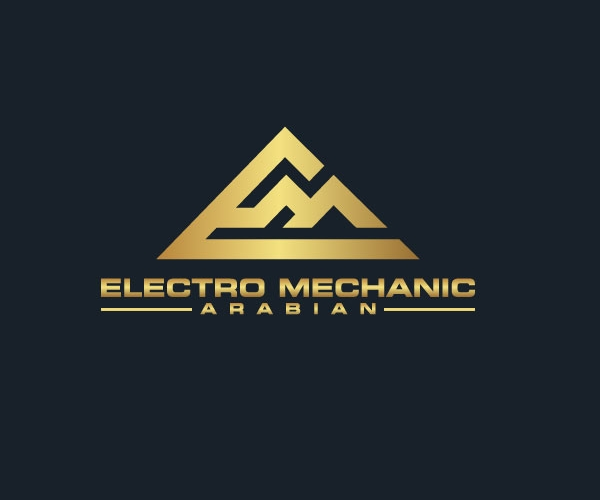 electro-mechanic-arabian-logo-design