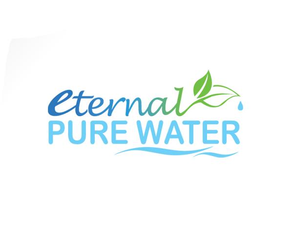eternal-pure-water-logo-design