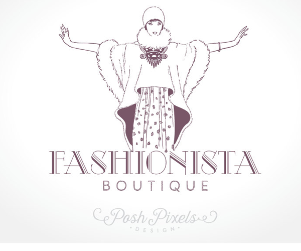 fashionista-boutique-logo-design