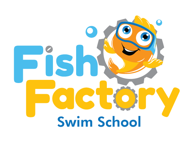 fish-factory-swim-school-creative-logo