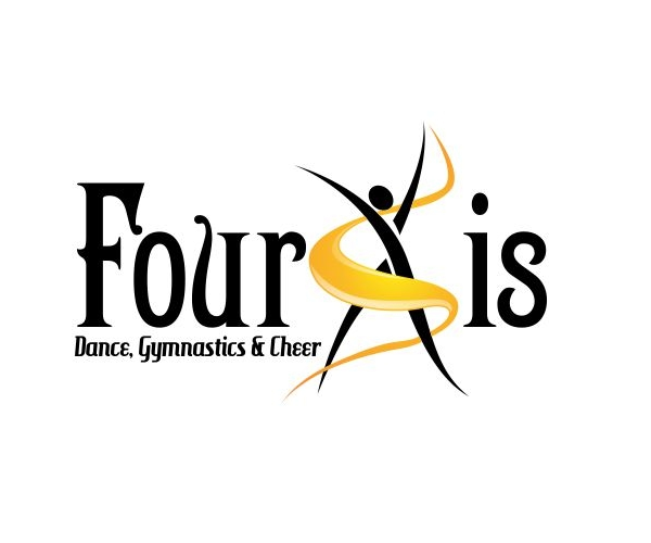 four-xis-dance-logo-design
