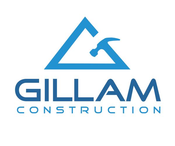 gillam-construction-logo-design