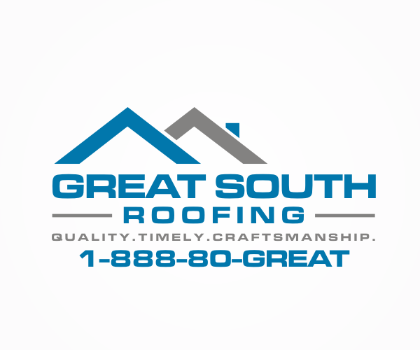 great-south-roofing-logo-designer