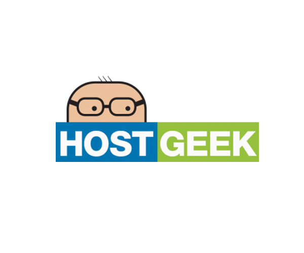host-geek-logo-design