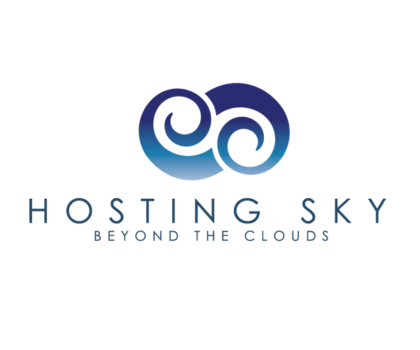 hosting-sky-clouds-logo-design