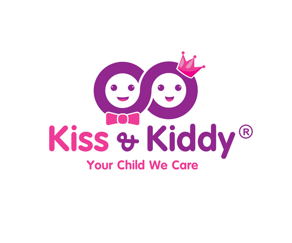 kiss-and-kiddy-logo-design-free