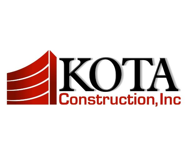 kota-construction-inc-logo-design