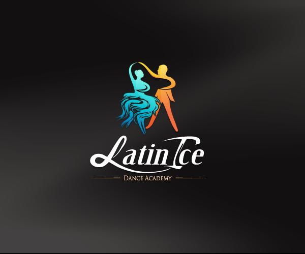 latin-ice-dance-academy-logo-design