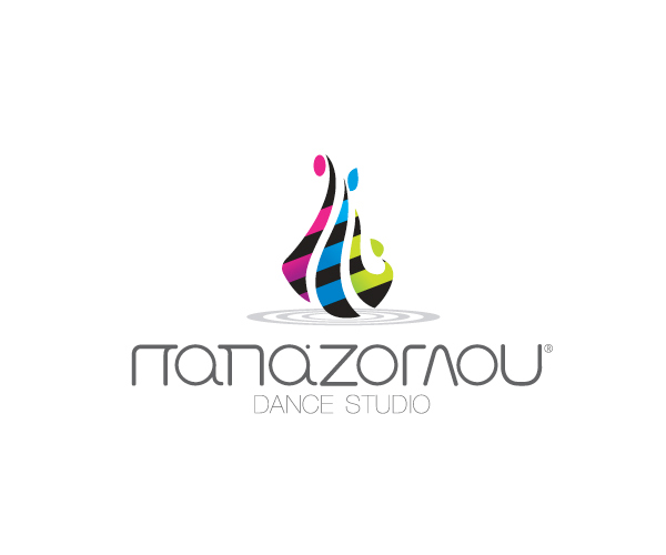 logo-design-for-PAPAZOGLOU-Dance-Studio