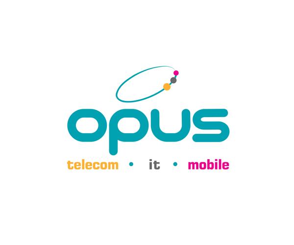 opus-telecom-logo-design-download
