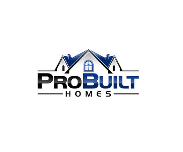 probuilt-homes-company-logo-design