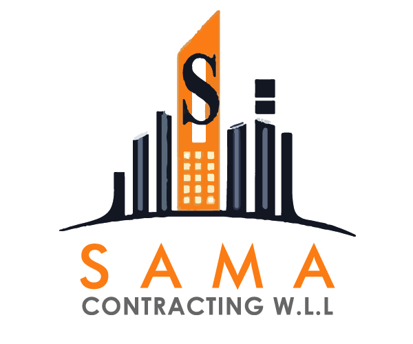 sama-contracting-logo-design