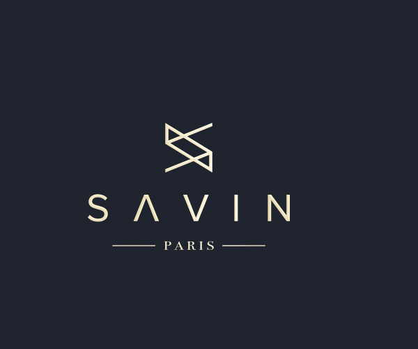 savin-paris-logo-design