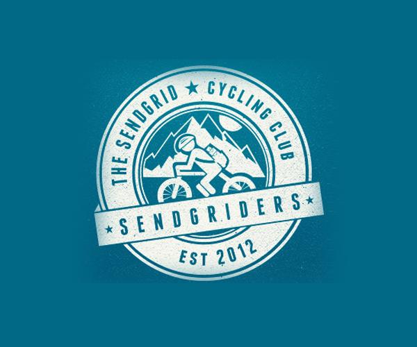 sendgrid-cycling-club-logo-design