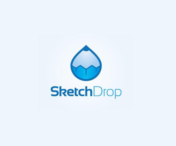 sketch-drop-logo-design