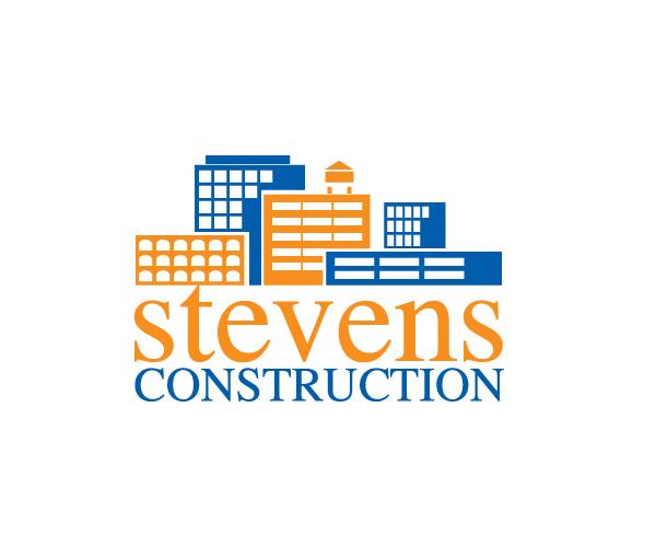 stevens-construction-logo-design