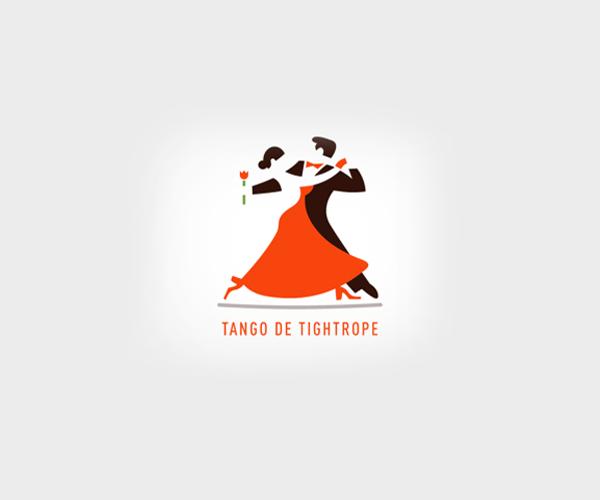 tango-de-tightrope-logo-design