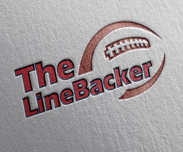 the-line-backer-sports-logo-design-UK