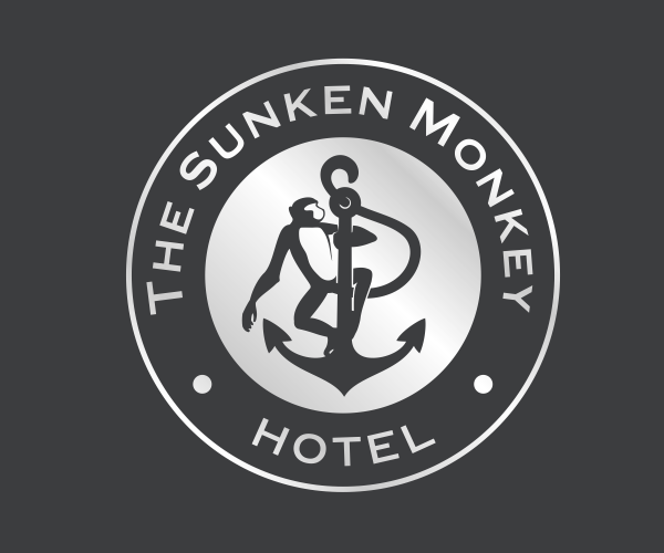the-sunken-monkey-hotel-logo-design