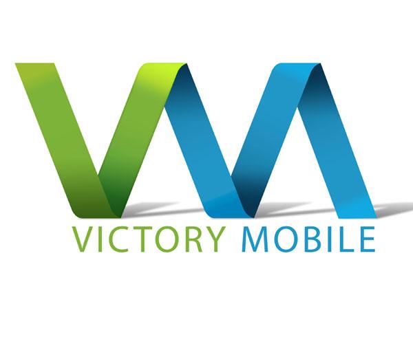 victory-mobile-logo-design