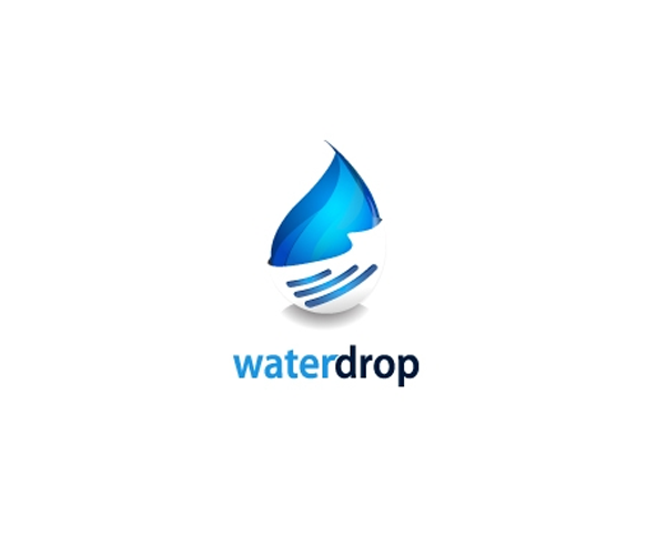 water-drop-logo-design
