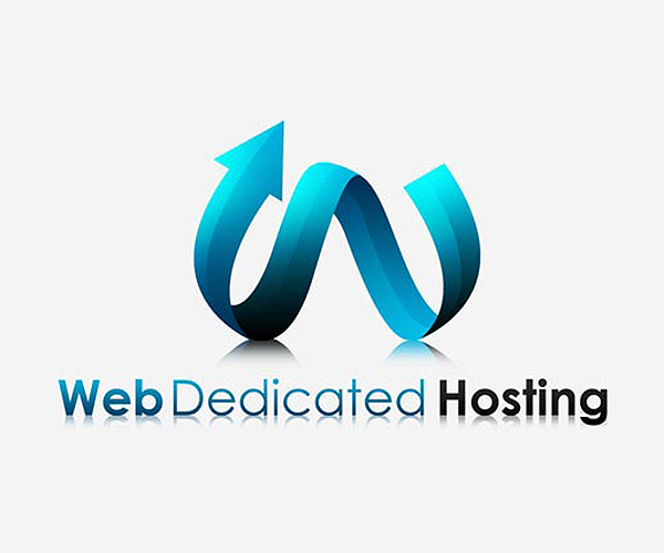 web-dedicated-hosting-logo-design