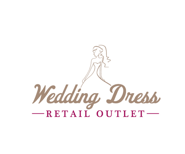 wedding-dress-outlet-logo-design