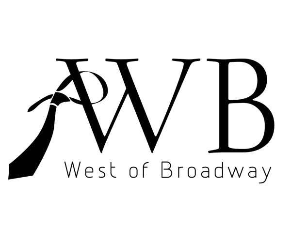 west-of-broadway-logo-design