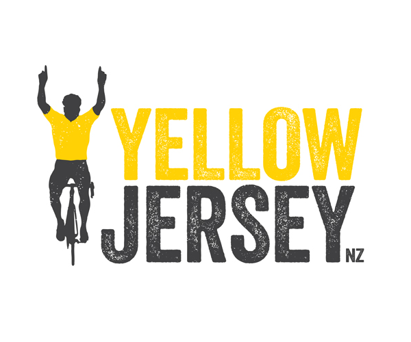 yellow-jersey-cycling-logo-graphic-design