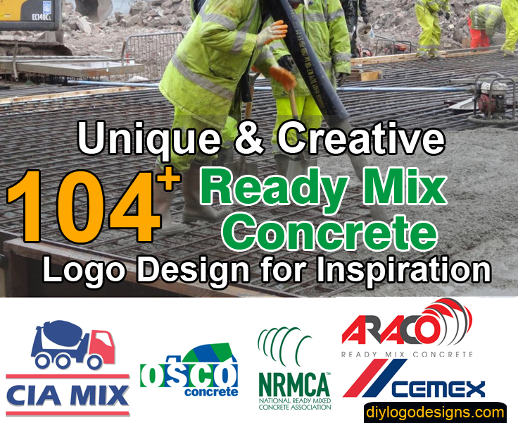 104+ Top Ready Mix Concrete Business Logo Design