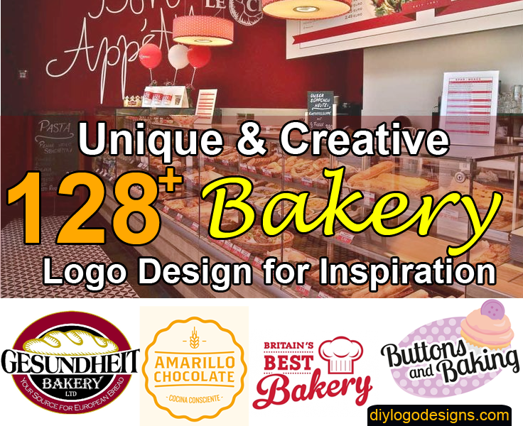 128+ Delicious Bakery Logo Design Inspiration for Your Shop.