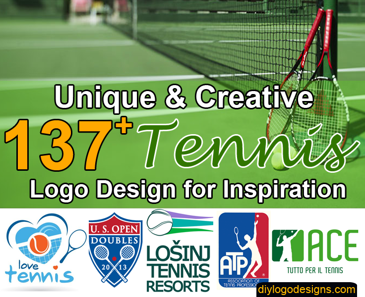 137+ Best Tennis Logo Design Examples Inspiration