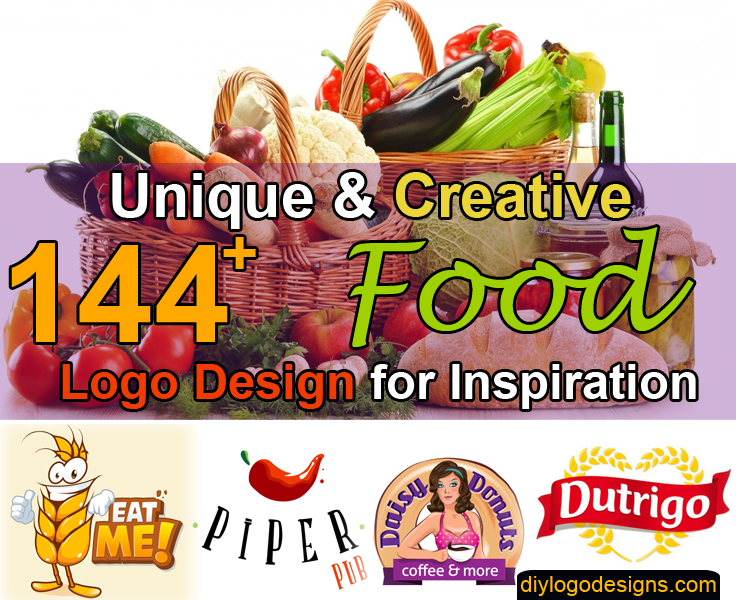 144+ Best & Creative Food Logo Design Ideas & Brands