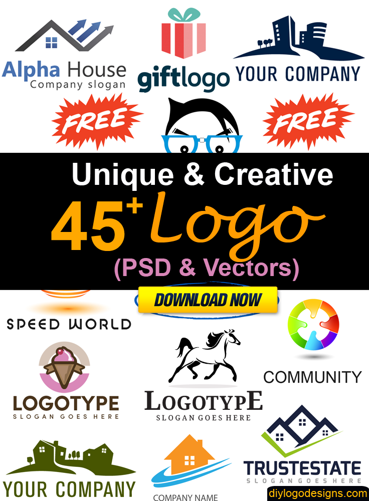 45+ Download Free Creative Logo (PSD & Vectors)