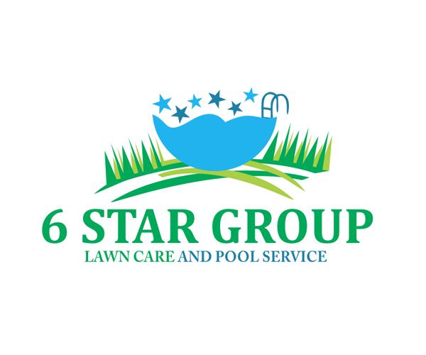 6star-group-pool-service-logo-designer