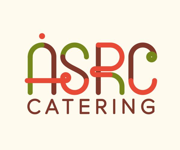 ASRC-Catering-logo-design