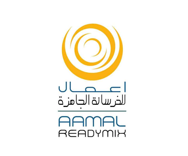 Aamal-Readymix-logo-design