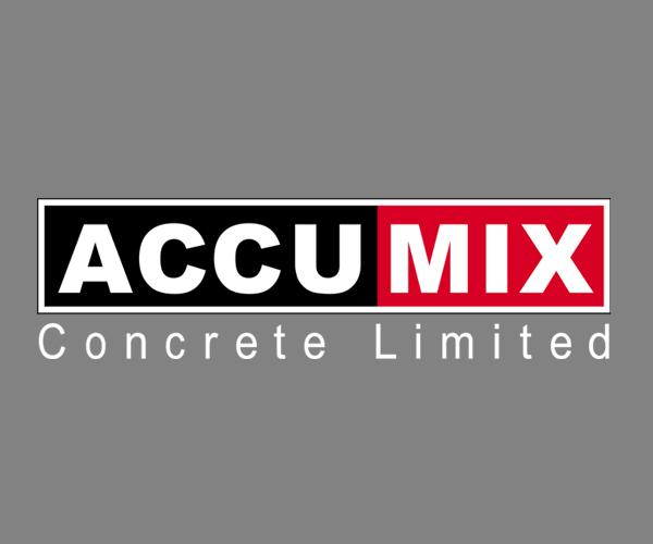 Accumix-Concrete-logo-design