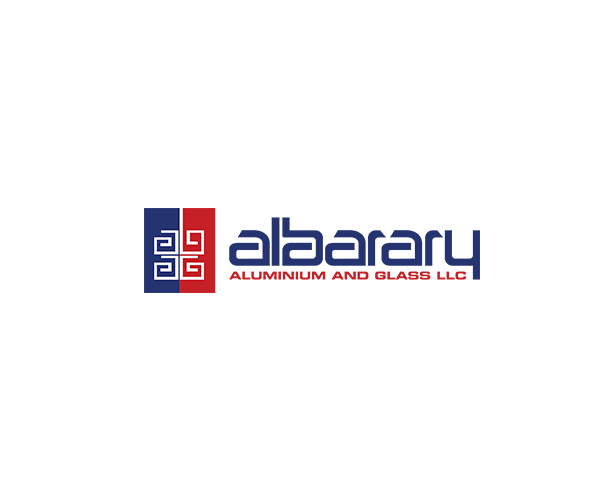 Al-Barary-Aluminum-&-Glass-logo-design