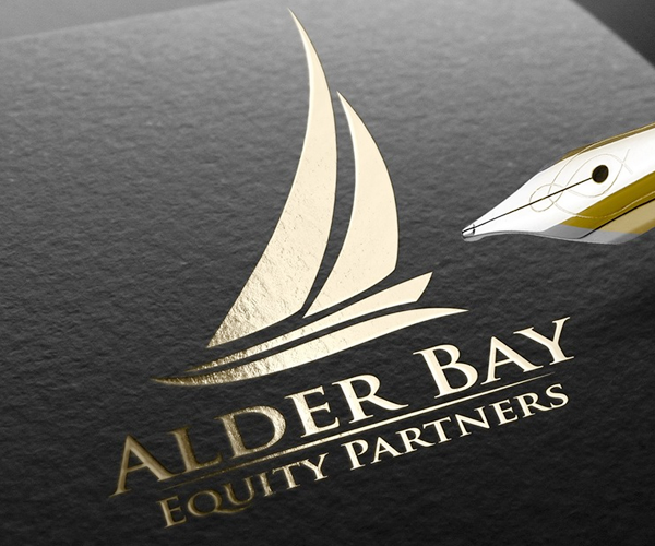 Alder-Bay-boat-company-logo-design
