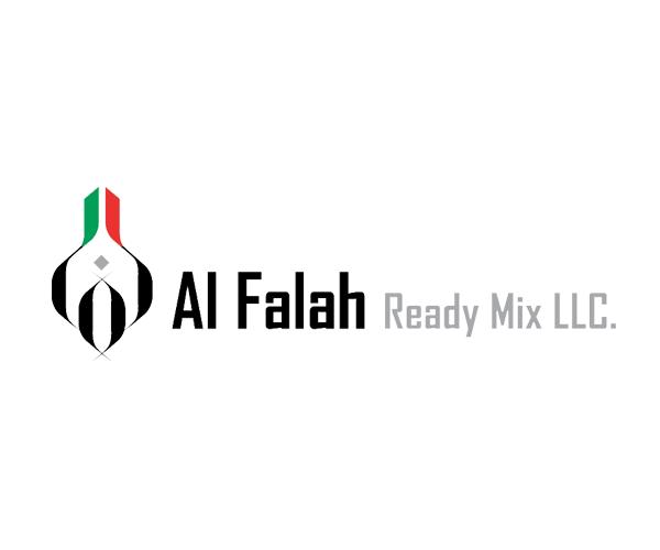 Alfalah-Ready-Mix-logo-design-dubai