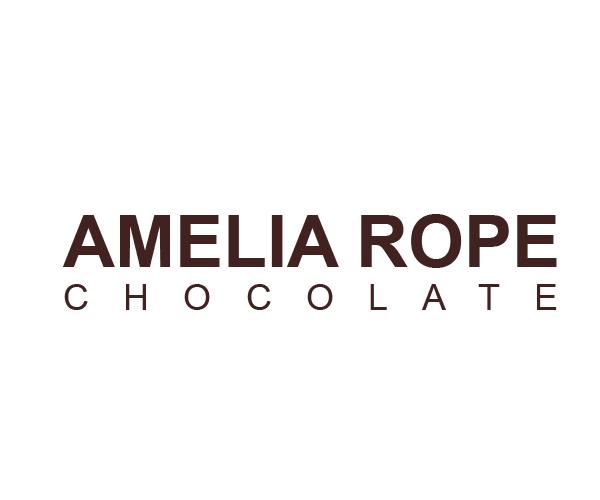 Amelia-Rope-chocolate-logo-design